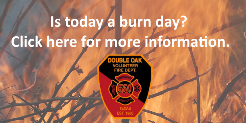 brush fire and burn day question